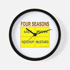 FOUR SEASONS Wall Clock