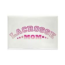 Lacrosse Mom Rectangle Magnet