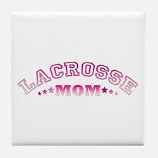 Lacrosse Mom Tile Coaster
