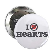 """Don't Heart Hearts 2.25"""" Button (10 pack)"""