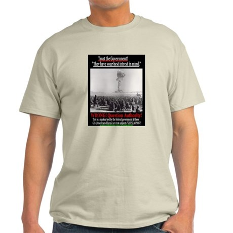 Trust the Government Ash Grey T-Shirt