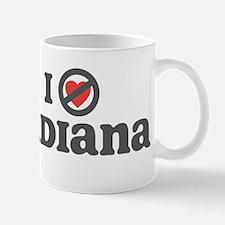 Don't Heart Indiana Mug