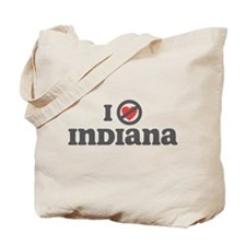 Don't Heart Indiana Tote Bag