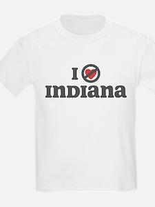 Don't Heart Indiana T-Shirt