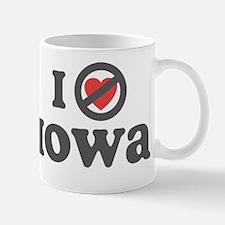 Don't Heart Iowa Mug