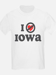 Don't Heart Iowa T-Shirt