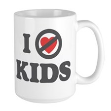 Don't Heart Kids Mug