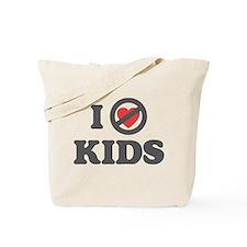 Don't Heart Kids Tote Bag