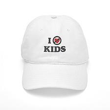 Don't Heart Kids Baseball Cap