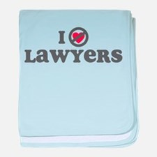 Don't Heart Lawyers baby blanket