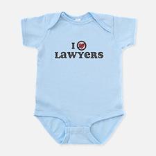 Don't Heart Lawyers Infant Bodysuit
