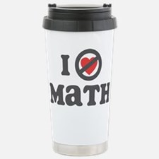 Don't Heart Math Travel Mug