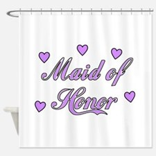 Maid of Honor Shower Curtain