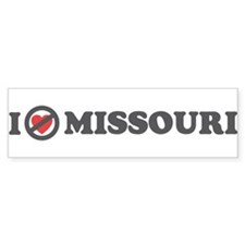 Don't Heart Missouri Bumper Sticker