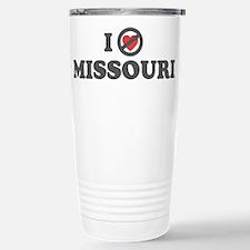 Don't Heart Missouri Stainless Steel Travel Mug