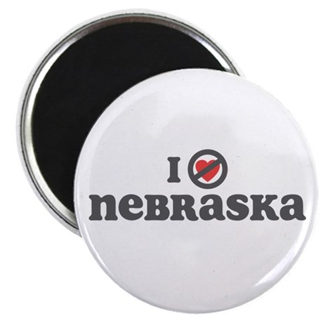 Don't Heart Nebraska Magnet