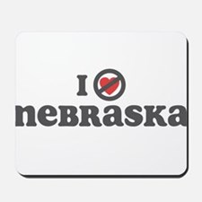 Don't Heart Nebraska Mousepad