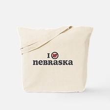 Don't Heart Nebraska Tote Bag