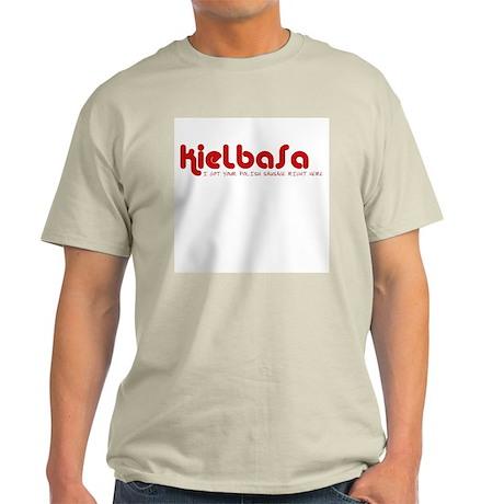 Kielbasa Ash Grey T-Shirt