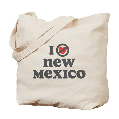Don't Heart New Mexico Tote Bag