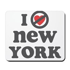Don't Heart New York Mousepad