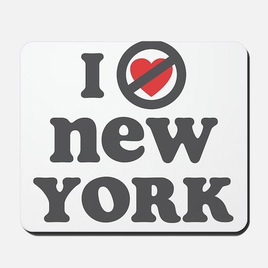 Don't Heart New York Mousepad