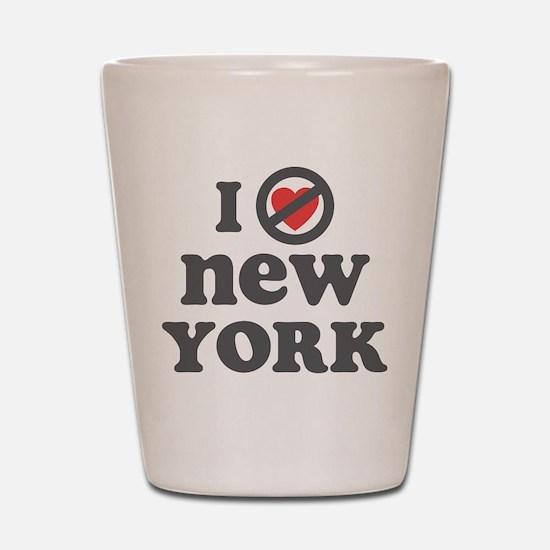 Don't Heart New York Shot Glass