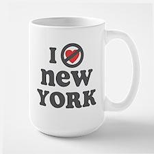 Don't Heart New York Large Mug
