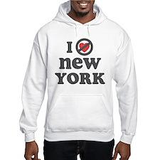 Don't Heart New York Hoodie