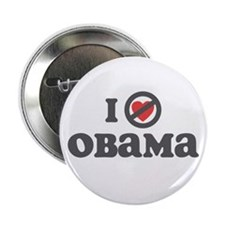 "Don't Heart Obama 2.25"" Button (10 pack)"