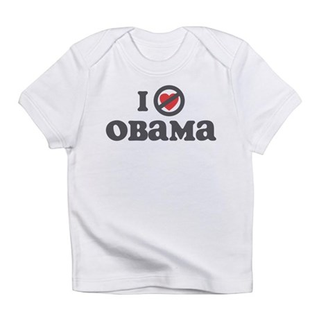 Don't Heart Obama Infant T-Shirt