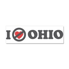 Don't Heart Ohio Car Magnet 10 x 3