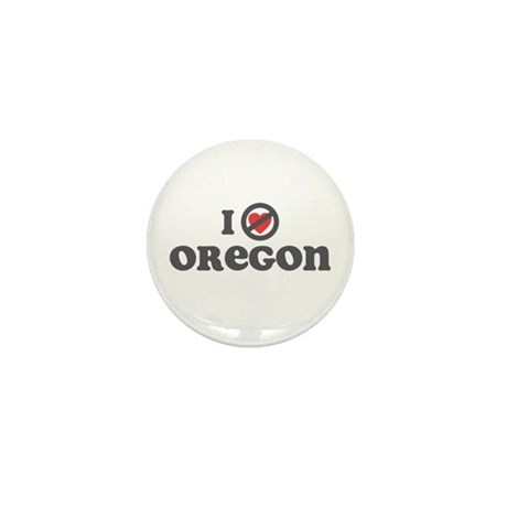 Don't Heart Oregon Mini Button
