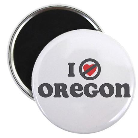 """Don't Heart Oregon 2.25"""" Magnet (10 pack)"""