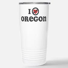 Don't Heart Oregon Travel Mug