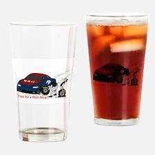 Mitt Stop Drinking Glass