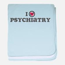 Don't Heart Psychiatry baby blanket