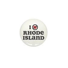 Don't Heart Rhode Island Mini Button (10 pack)