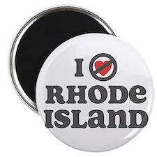 Don't Heart Rhode Island Magnet