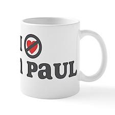 Don't Heart Ron Paul Mug