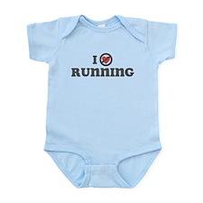 Don't Heart Running Infant Bodysuit