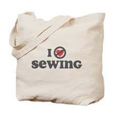 Don't Heart Sewing Tote Bag