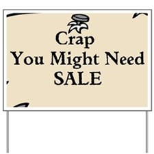 Best Yard Sale Sign EVER - Yard Sign