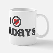 Don't Heart Sundays Mug