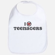 Don't Heart Teenagers Bib