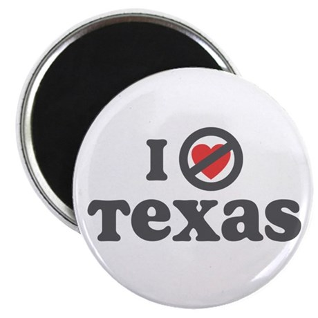 "Don't Heart Texas 2.25"" Magnet (10 pack)"