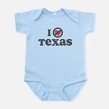Don't Heart Texas Infant Bodysuit