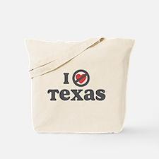 Don't Heart Texas Tote Bag