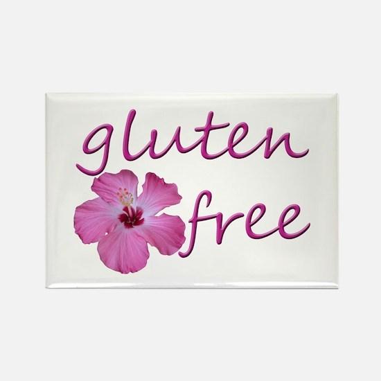 Gluten-Free Hibiscus Rectangle Magnet
