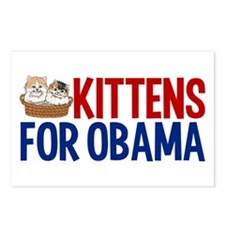 Kittens for Obama Postcards (Package of 8)